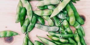 トウモロコシに加え、枝豆も!緊急開催!8/9日