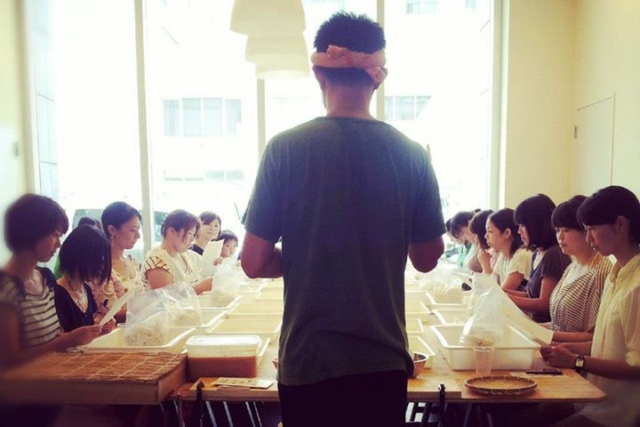 9/28土 宮本みそ店 x 男子野菜部「味噌づくりワークショップ第二弾」