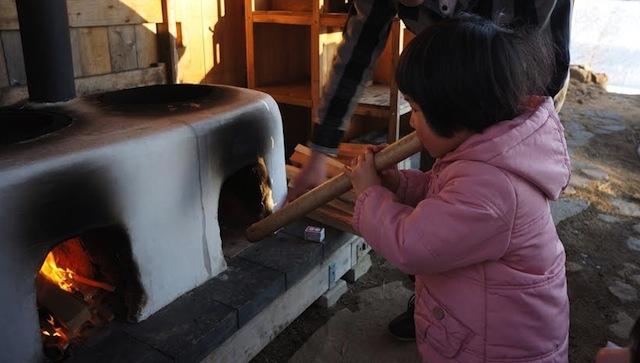 土かまどでお米を炊いて食べるワークショップ開催@11/1,2