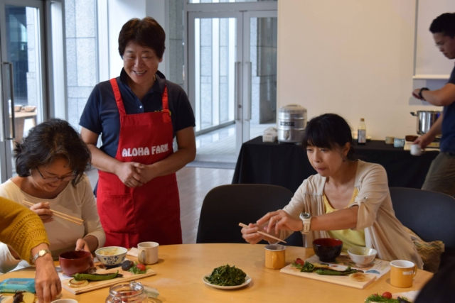 【Farm to Table Report】かまどご飯&秋野菜グリルランチワークショップ