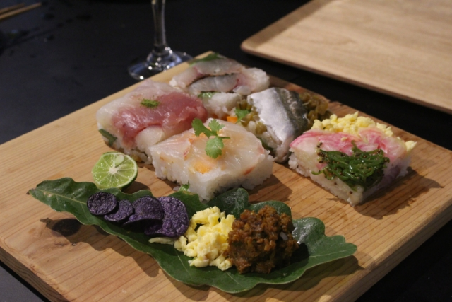 【Farm to Table Report】momoGファームさんの農薬・肥料不使用で育てたお米と野菜を味わう押し飯(寿司)ワークショップ