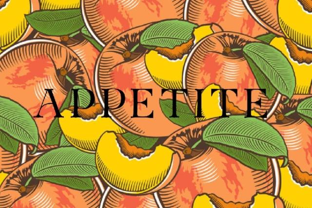 10年間の食の体験が詰まった『APPETITE』| 8/31土 & 9/1日